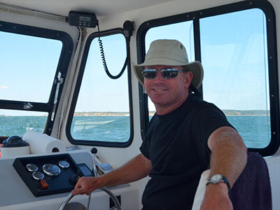 Jonathan Boyd - Martha's Vineyard Boat Captain